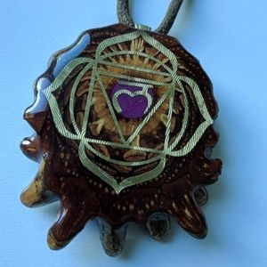 Third Eye Pinecone Pendant